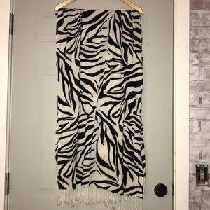 Zebra shawl/scarf